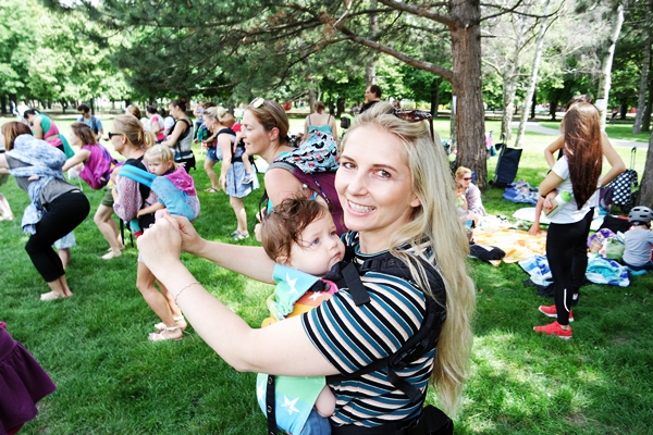 MAWIBA @ Babywearing Day Vienna 2016